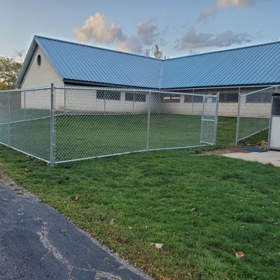 Dog Warden's office dedicates play yard in memory of Patricia Wilson