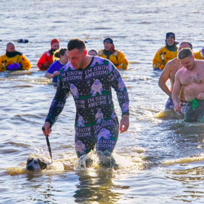 """Polar Bear Dip organizers take cause national, ask participants to get """"cold for a cure"""" at home"""