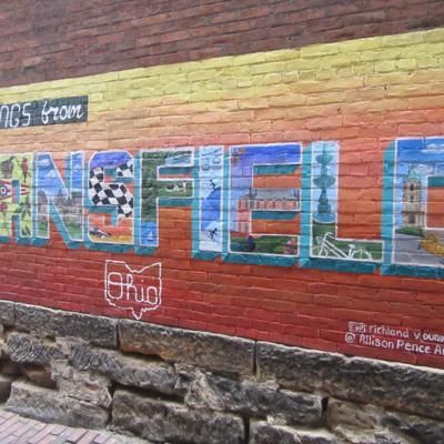 Mansfield attraction murals brighten Brickyard alleys