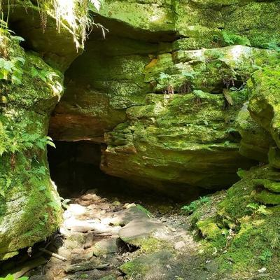 Have you ever explored Rock City Cave at Malabar Farm?