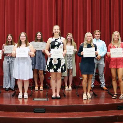 Galion Community Foundation presents local scholarship awards