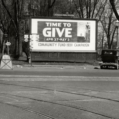 Then & Now: United Way 1931