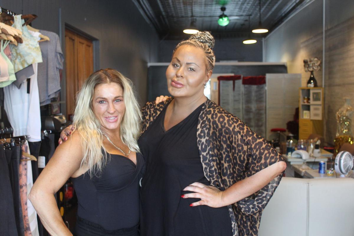 Kiesha Boone and Jasmyn Webb