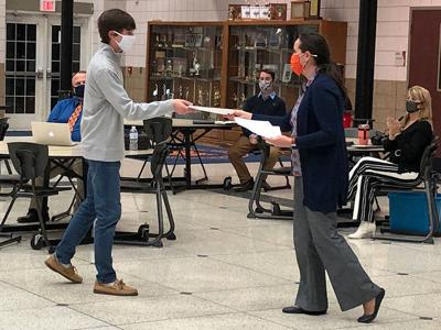 Galion Board of Education recognizes outstanding student achievements