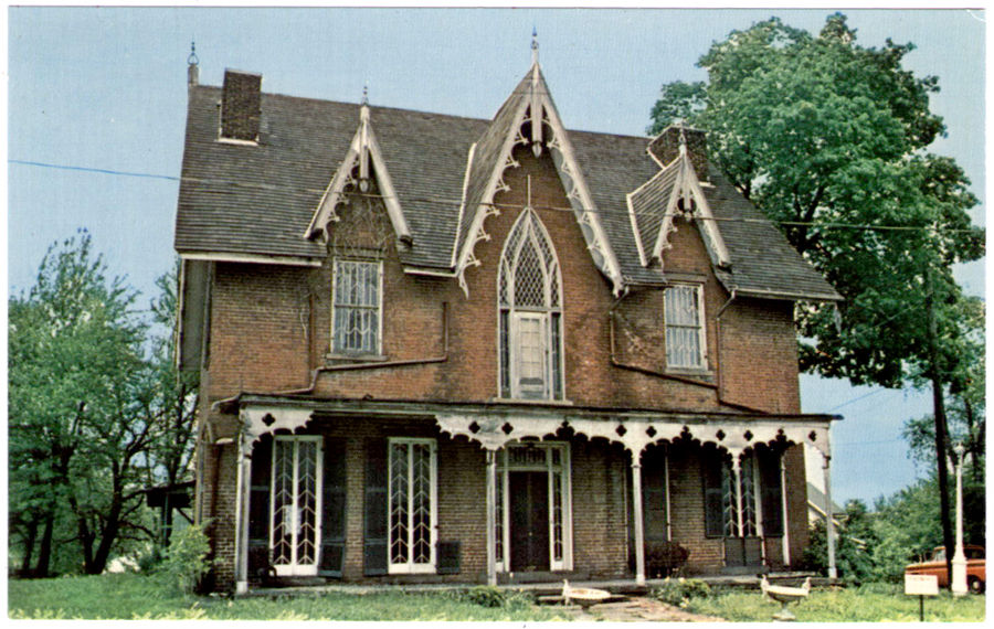Oak Hill Cottage in the 1960s