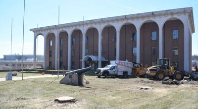 Tree removal at Richland County Administration Building done for safety, beautification plan