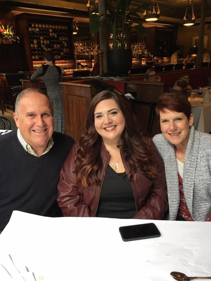 Erin Tuggle and her parents
