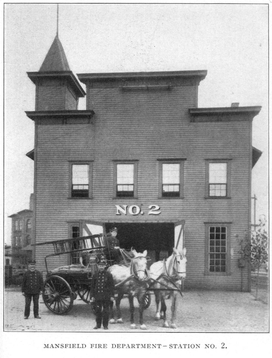 Mansfield Fire Department: Station No. 2 1902-1938