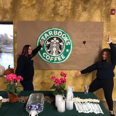 Richland School of Academic Arts hosts Starbooks Cafe