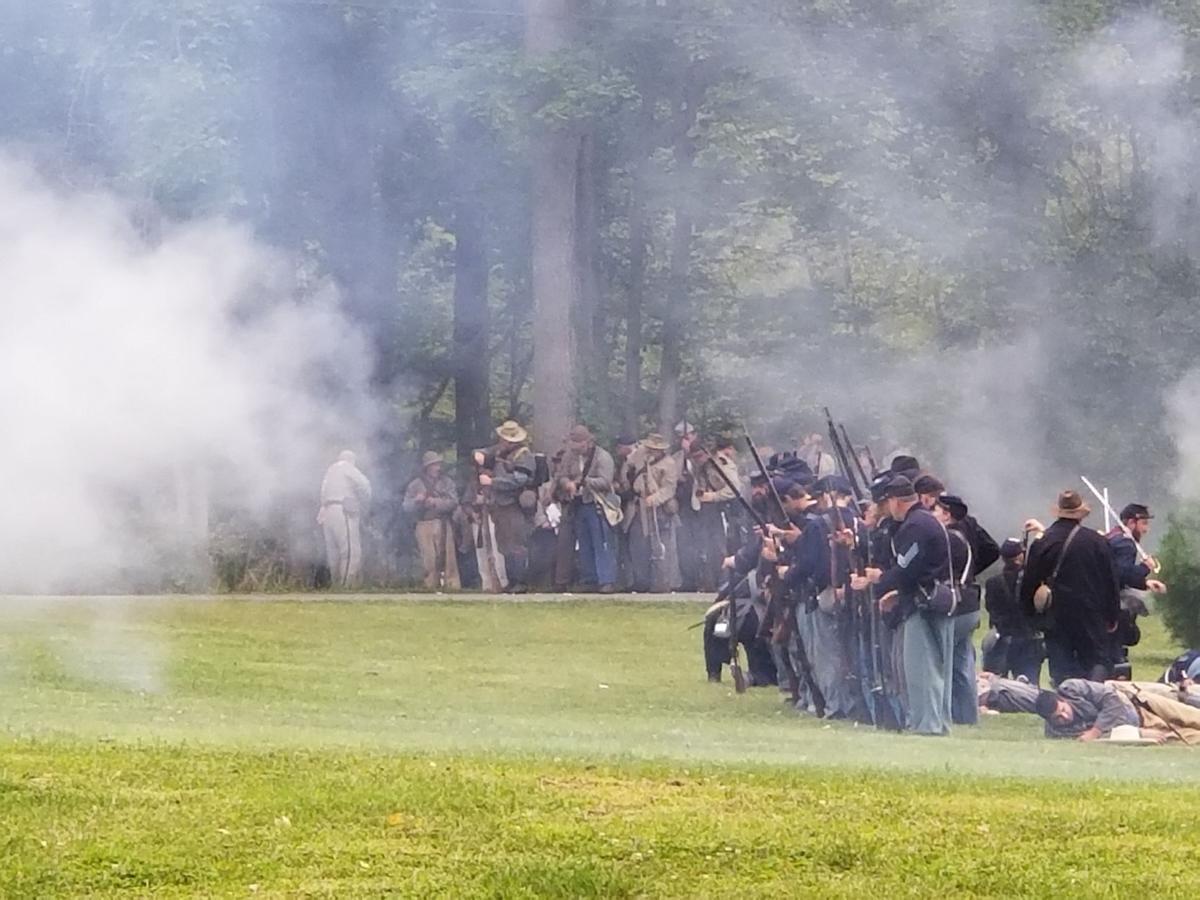 Civil War smoke