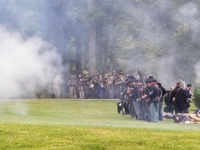 GALLERY: Civil War Re-enactment