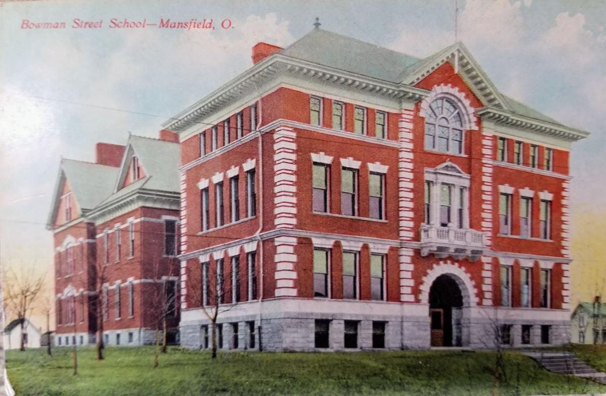 Bowman Street School postmark no date