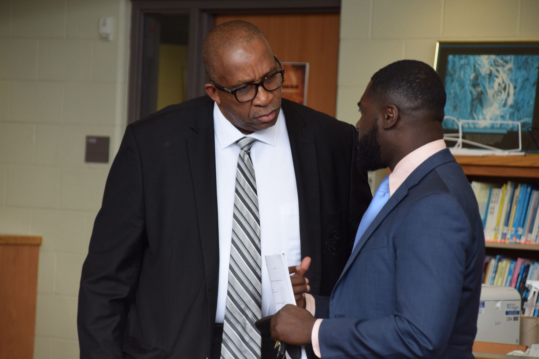 Jefferson introduced as new superintendent at Mansfield Board of Education meeting