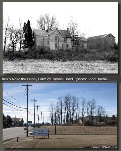 Then & Now: The Finney Farm on Trimble Road