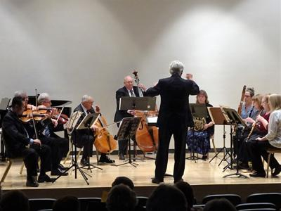 Mansfield Chamber Music Players in concert