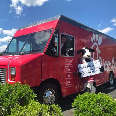 Local enthusiasm brings Chick-fil-A food truck to Ashland