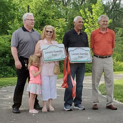 Galion dedicates new community recreation path