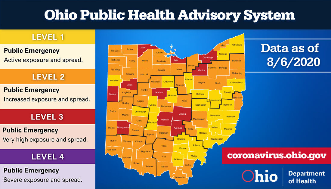 PHAS statewide map 080620