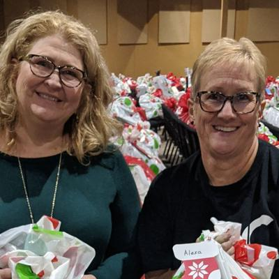 Adopt a Child program providing Christmas gifts to more than 1,000 children in need