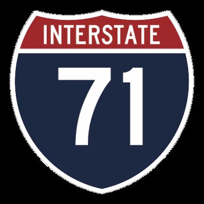 I-71 sign