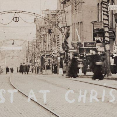 Then & Now:  Main Street during the Christmas season of 1909