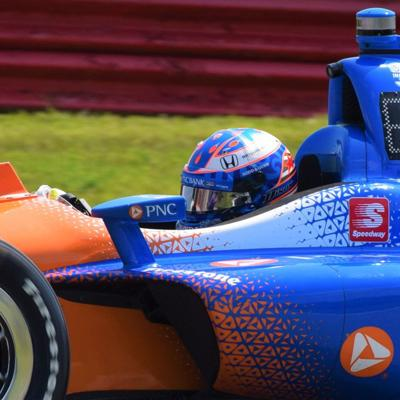 GALLERY: IndyCar Series drivers practice Friday morning for Honda 200 at Mid-Ohio