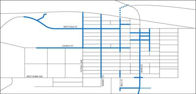 Bellville Map