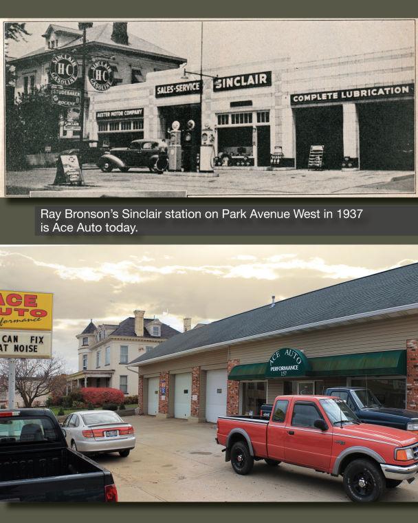 Park Avenue Sinclair 1937 and now