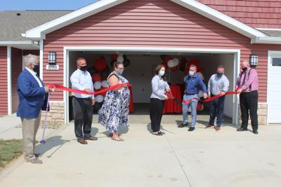 redwood ribbon cutting