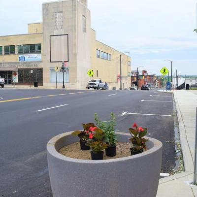 Mansfield Rising: Traffic now flowing both directions on Diamond Street