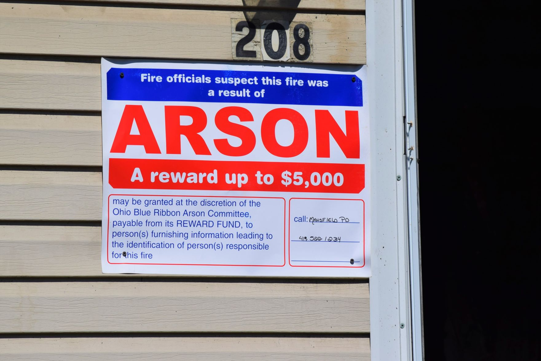 Alleged fatal arsonist waives preliminary hearing in Mansfield Municipal Court