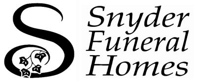 Snyder Funeral Homes logo