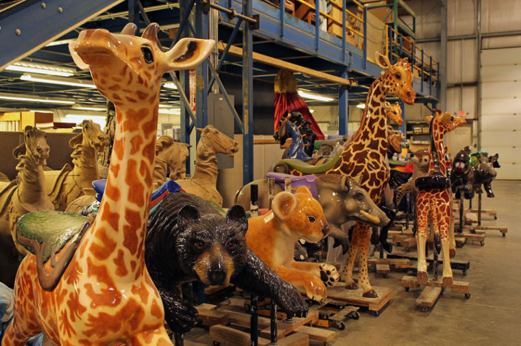 Carousel Works figurine varieties