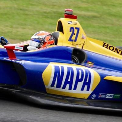 Rossi hoping for repeat IndyCar win at Mid-Ohio this weekend