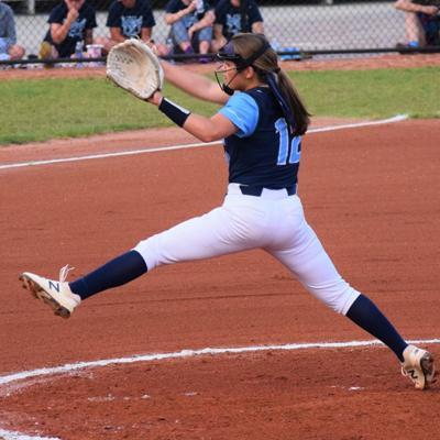 Hillsdale battles back, but falls short in state softball semifinal loss