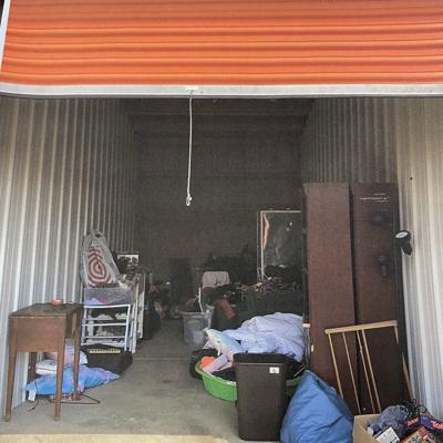 Refrigerators, washer, dryer, and dresser available at Lock It Up Storage auction on Oct. 9