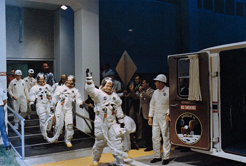 1969: Tell us where you were when man landed on the moon