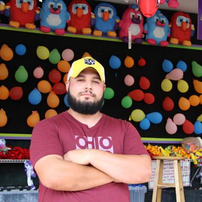 Mansfield carnival worker creates memories at Richland County Fair