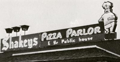 Then & Now:  Shakeys on West Fourth Street 1971