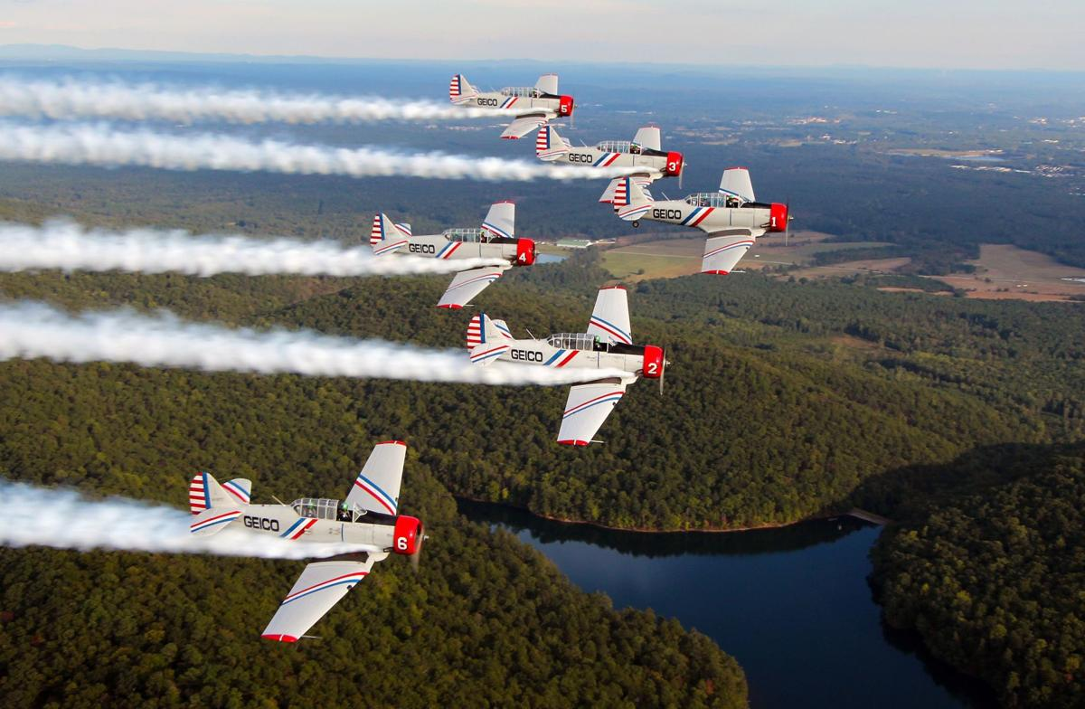World War II airplanes for Cleveland Air Show