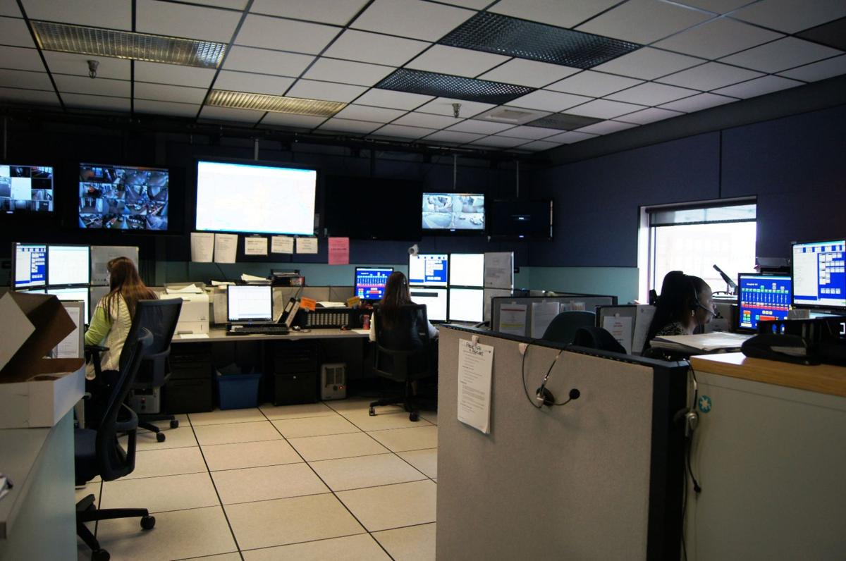 Mansfield's Public Safety Communications Center