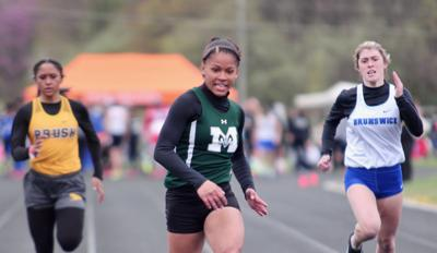 Speed Merchant: Madison's Lewis burning up the track