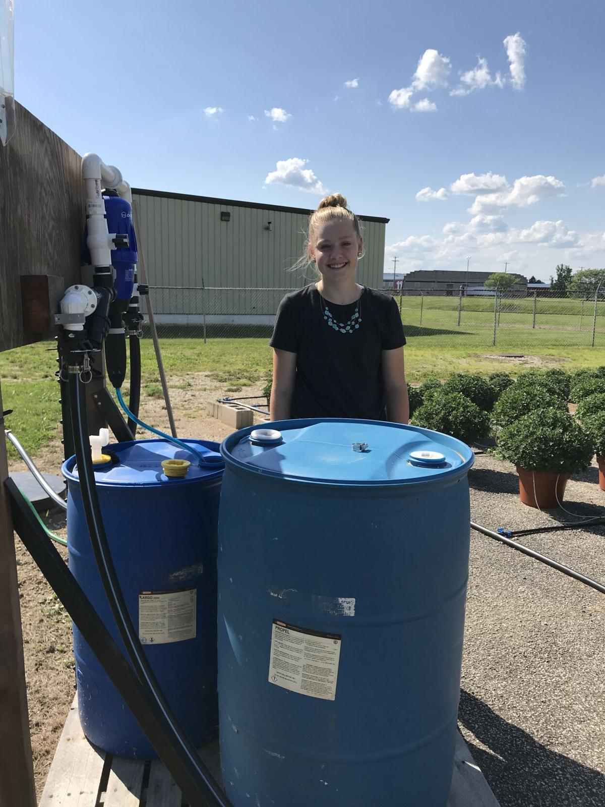 Cadence Fairchild with watering system