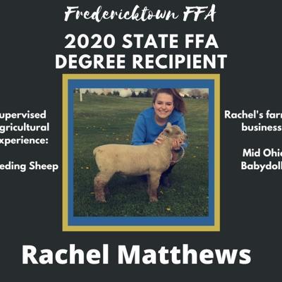 Two Fredericktown FFA members receive State FFA Degrees