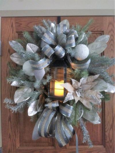 Light the Way wreath