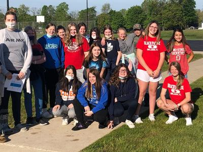 Field Day looks different for Galion 7th graders