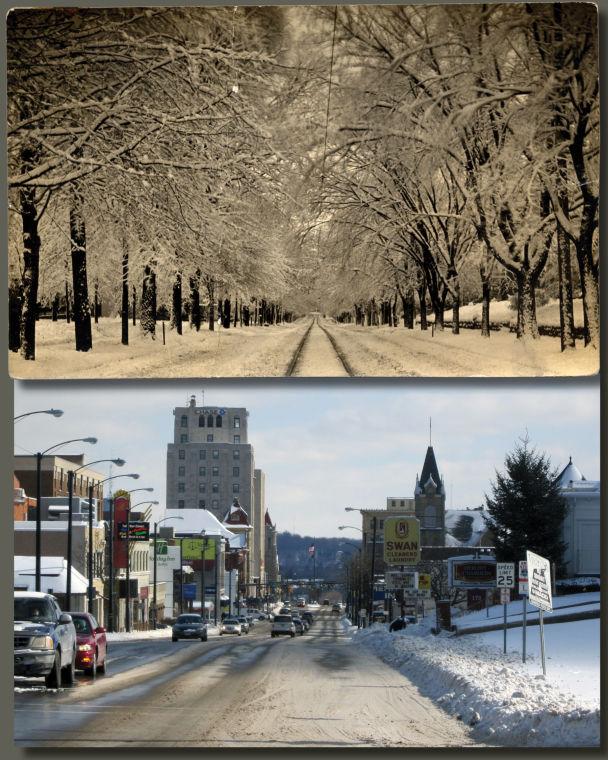 Park Avenue West: Then & Now