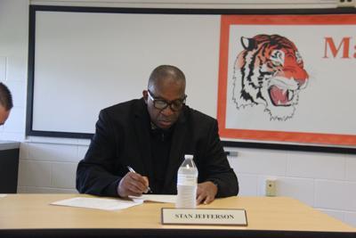 Superintendent Stan Jefferson