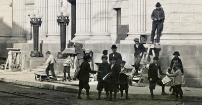 Newsboys at 4th & Main