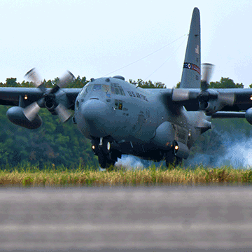 179th Airlift Wing salutes Richland, Crawford County cities with series of flybys